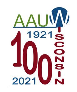 AAUW 100 years logo